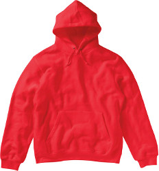 "Hoodie ""Your City"" Ladies - Red"