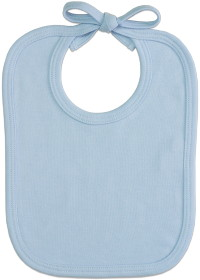 Imprinted Bib - Blue