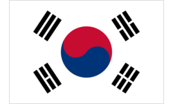Cup with Flag - South Korea