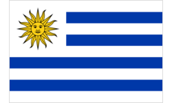 Cup with Flag - Uruguay