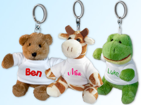 Stuffed Animal Keychain
