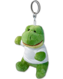 Stuffed Animal Keychain - Frog
