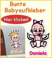 babyaufkleber online bestellen babyaufkleber my baby shop com. Black Bedroom Furniture Sets. Home Design Ideas
