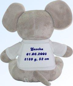 stoff elefant online bestellen elefant my baby shop com. Black Bedroom Furniture Sets. Home Design Ideas