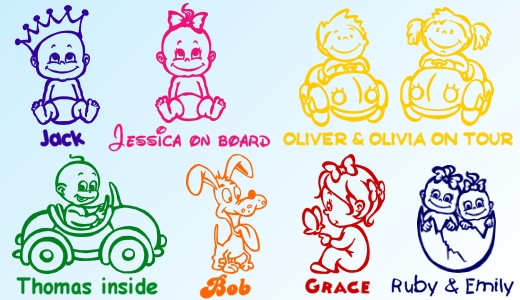 Buy Baby Stickers Online Stickers My Baby Shop 174 Com
