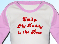 Emily: My Daddy is the Best