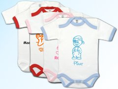 Baby Body mit Babymotiven