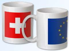 Cup with Flag