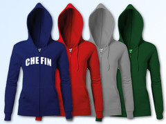 Hooded Zipper Ladies