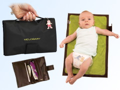 MELOBABY all-in-one Nappy wallet + change mat