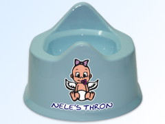 Potty with Colored Motif